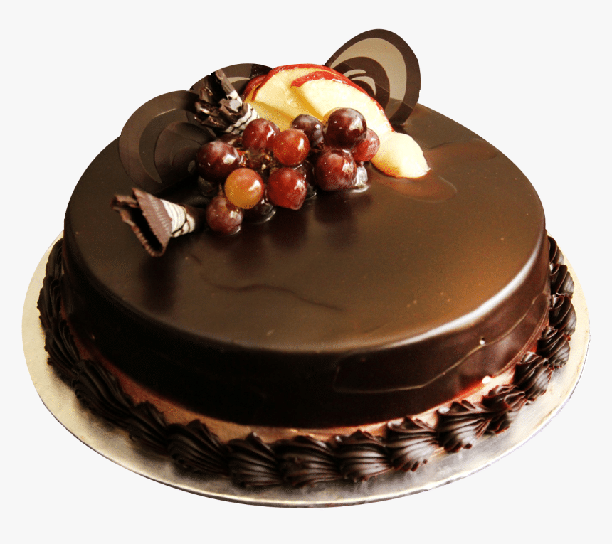 187 1875280 half kg chocolate truffle cake price hd png 1