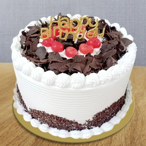 black forest cake with happy birthday topper 500x500 1