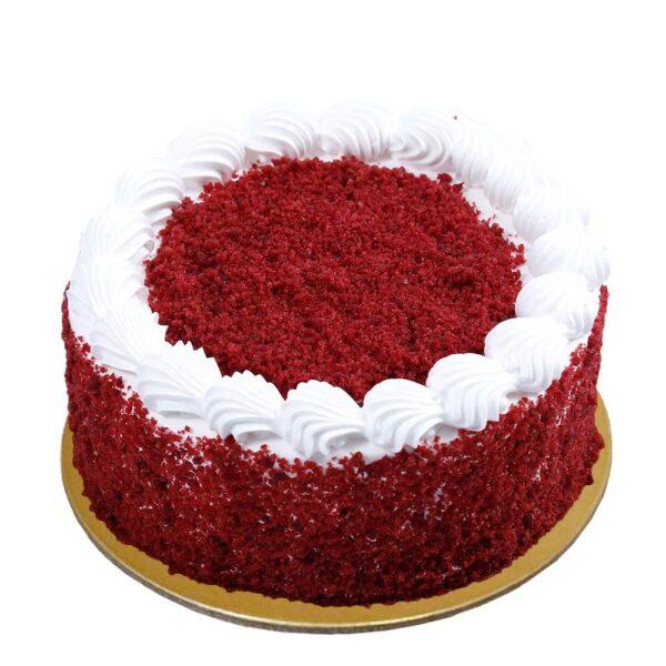 Tempting Red Velvet Cake