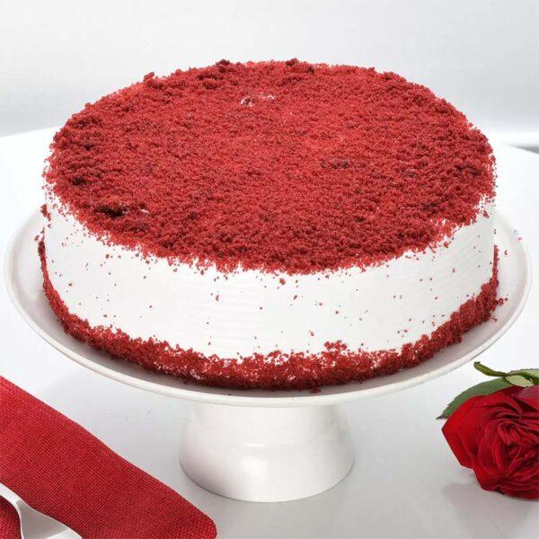 The Crusty Red Velvet Cake