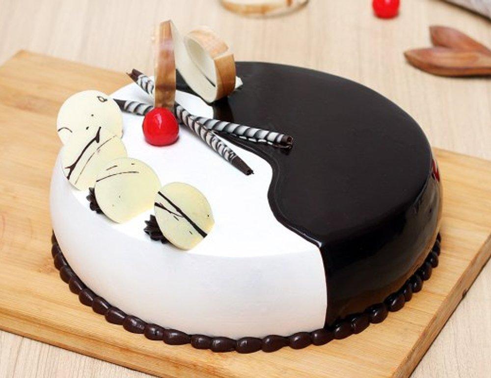 choco vanilla cake 2 cake893chva A