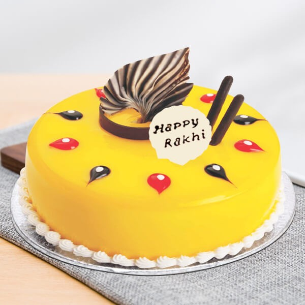 rakhi fascinate pineapple cake