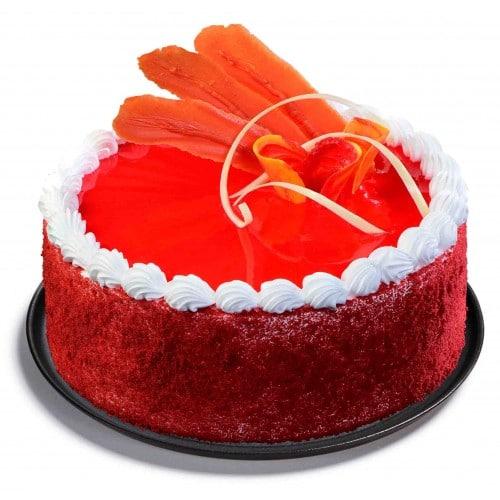 Mouth-watering Red Velvet Cake