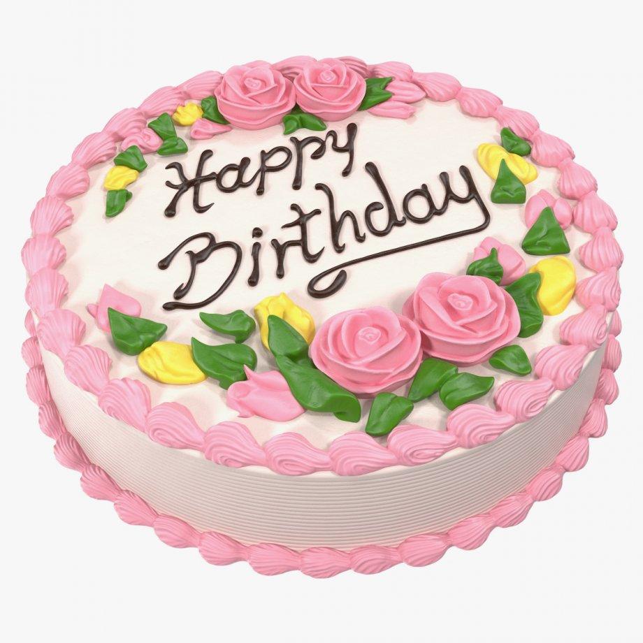 vanilla birthday cake 01