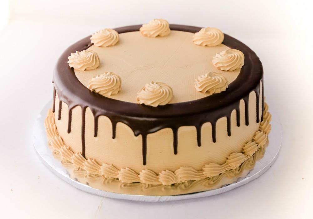 Simple Mocha Sugarfree Cake