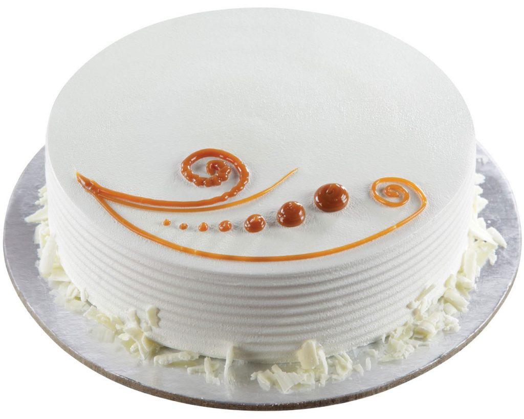 Sugar Free Smile Vanilla cake