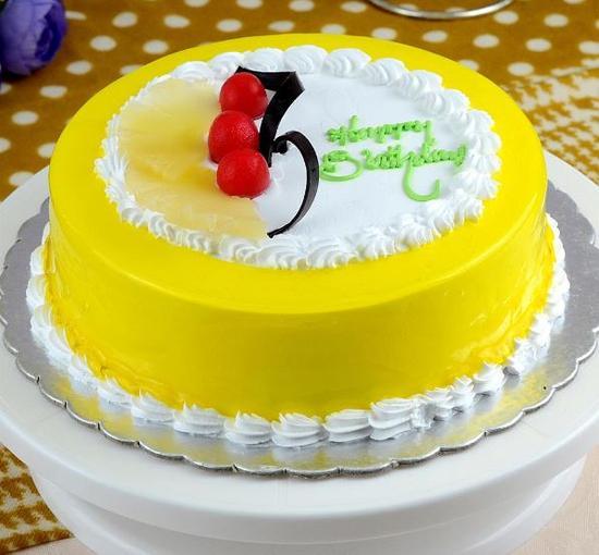 Pineapple Sugar Free cake