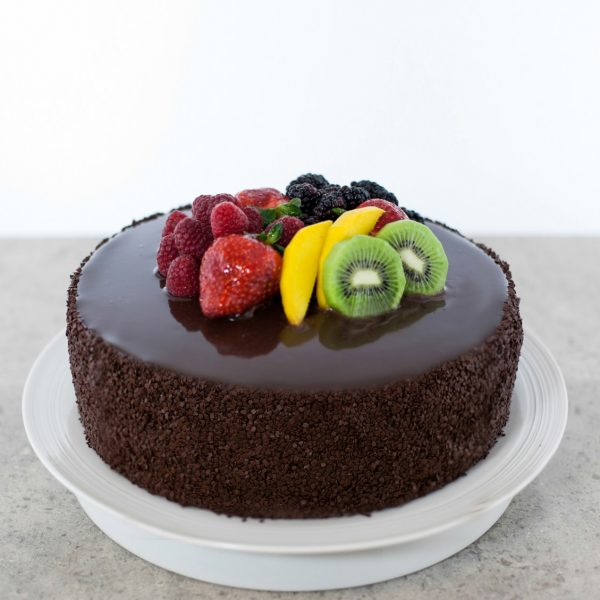 Choco Glazed Cake
